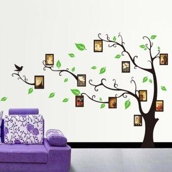 Harga ZOOYOO Photo Frame Tree Pattern DIY Removable Art Vinyl Quote Wall Sticker Decal Mural Home Room Decor