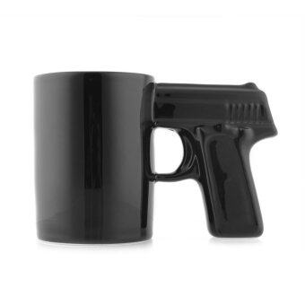Harga Gun Shape Handle Style Coffee Mug Cup