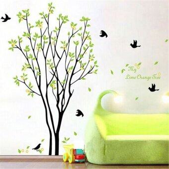 Harga Tree Bird Quote Removable Vinyl Wall Decal Mural Home Art DIY Decor Stickers