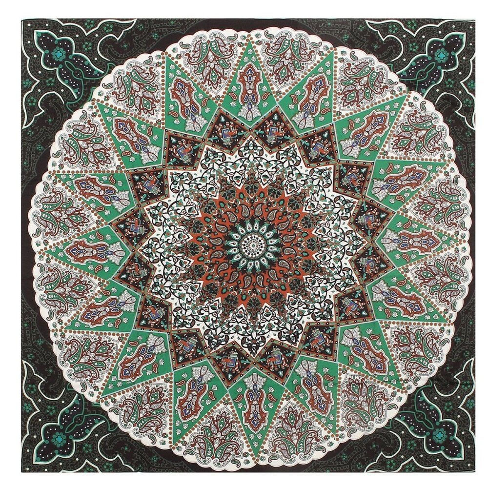 Indian Mandala Tapestry Hippie Wall Hanging Bohemian Bedspread Decor Beach Mat intl .