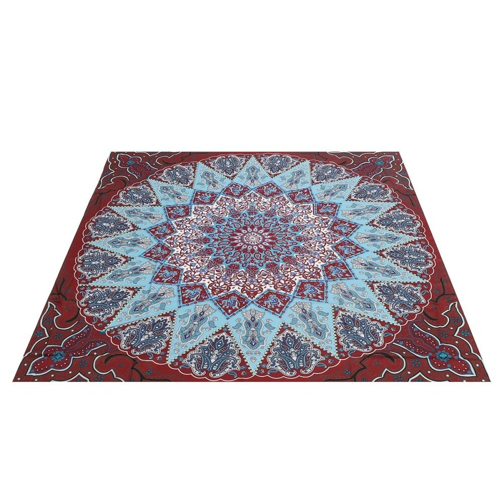 ... Indian Mandala Tapestry Hippie Wall Hanging Bohemian Bedspread Decor Beach Mat - intl ...