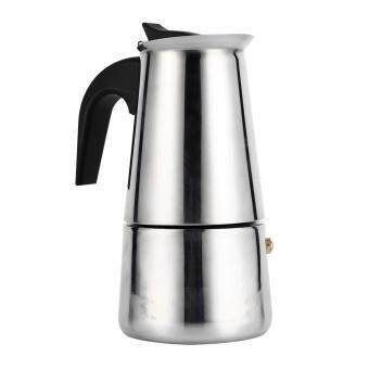 Induction Cooker Applicable Percolator Moka Pot Coffee Maker Stove(200ml) - intl