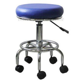 เปรียบเทียบราคา Inter Steel เก้าอี้สตูลนั่ง-เบาะหมุน(ขาล้อ)
