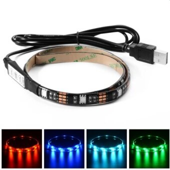 iremax ไฟเส้น Multi-color RGB 50cm 5050 SMD LED กันน้ำ พร้อม USB Cable