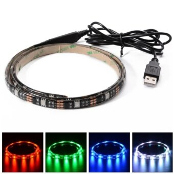 iremax ไฟเส้น Multi-color RGB 90cm 5050 SMD LED กันน้ำ พร้อม USB Cable