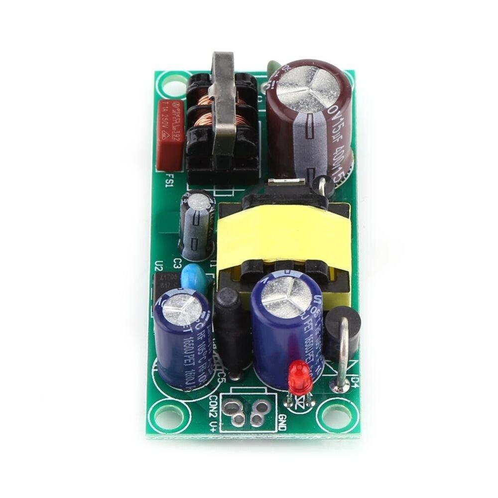 Ac 220v To Dc 5v 600ma Step Down Isolated Switching Power Converter 110v 90240v 9v 500ma Led Supply Module Input Ac85v264voutput Dc5v
