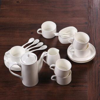 Jianyue น้ำตาลนมกระป๋องกาแฟสำเร็จรูป PARK'S กาแฟตั้งด้วยชุดของขวัญถ้วย PARK'S หม้อ