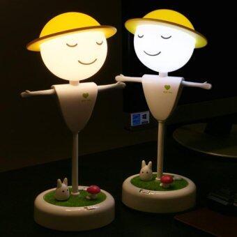 Jte โคมไฟหุ่นไล่กาแบบสัมผัส (White) - 4