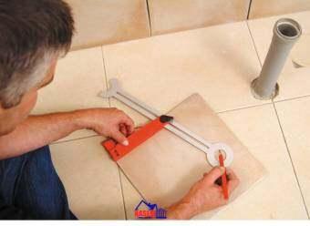 KAPRO ไม้ฉากวัดระยะเจาะรู 303 Ceramic Hole Marker