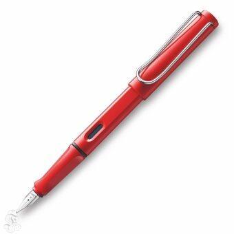 ประกาศขาย Lamy ปากกาหมึกซึม Lamy safari shiny red fountain pen (M)