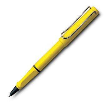 Lamy ปากกาโรลเลอร์บอล LAMY safari yellow rollerball pen