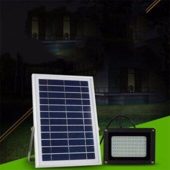 Light Farm โคมไฟสปอตไลท์ โซล่าเซลล์รุ่น SF-502 (54 LED) แสงสีขาว ,โคมไฟสวน โคมไฟติดผนัง โคมไฟติดเสา โคมไฟพลังงานแสงอาทิตย์ แพ็ค 1 ชุด