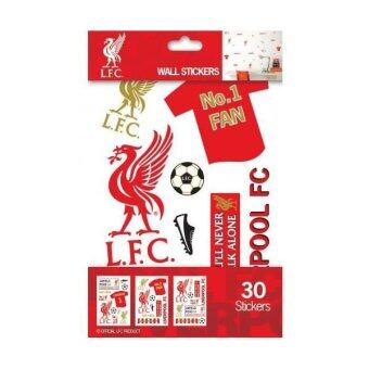 Liverpool FC Wall Sticker Pack (สีขาว/แดง)