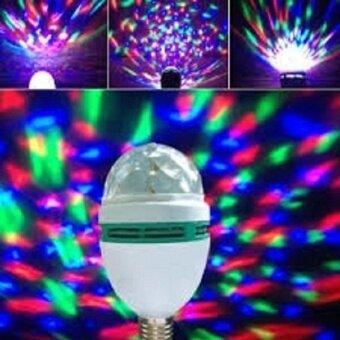 Lotte Lotte Mini Disco Light หลอดไฟดิสโก้ เปลี่ยนสีได้ (White) - 2