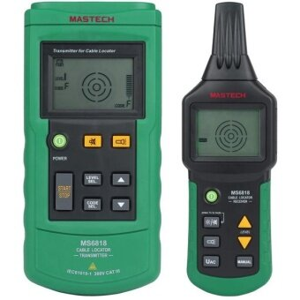 MASTECH MS6818 Advanced Cable Tracker Pipe Locator Detector Network Telephone Cable LAN Ethernet Wire Tester - intl