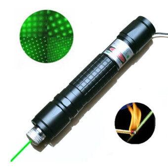 สนใจซื้อ ปากกาเน้น MilitaryLaser Lazer ปรับได้ชี้ 532nm ไหม้สีดำ