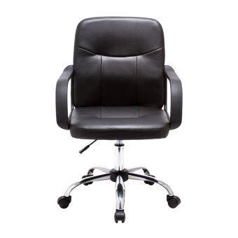 Modena เก้าอี้สำนักงาน รุ่น SEOUL ปรับระดับได้ (สีดำ) - 2