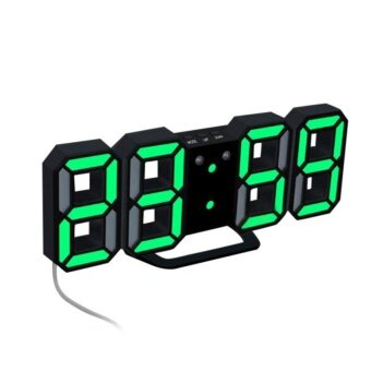 Modern Digital LED Table Alarm Clock 24 /12 Hour Display - intl