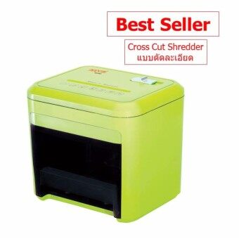 เครื่องทำลายเอกสาร Neocal ND38CC แบบตัดละเอียด Cross Cut Shredder (ประกันศูนย์) Best Seller