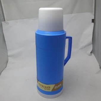ประกาศขาย Nikko กระติกเก็บน้ำร้อนน้ำเย็นไส้แก้ว ขนาด 1 ลิตร สีฟ้า(Blue)
