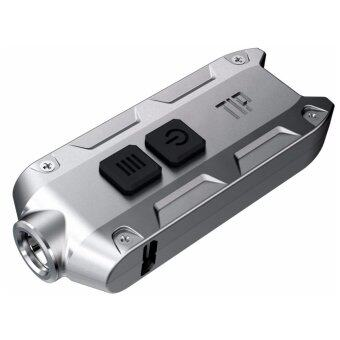 Nitecore TIP LED 360 Lumens - USB Rechargeable - สีเงิน
