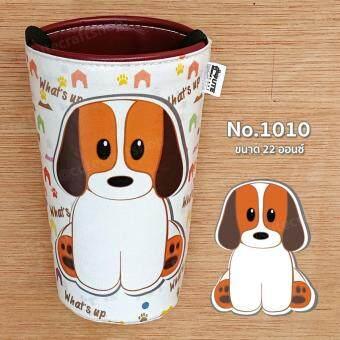 จัดโปรโมชั่น No.1010 : ที่หุ้มแก้วเก็บความเย็น สำหรับแก้วขนาด 22 ออนซ์