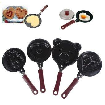Non stick Surface Omelette Pan style:Love - intl