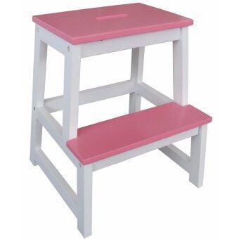 NT เก้าอี้บันได สีชมพู