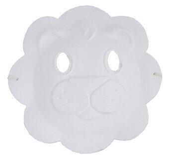 รีวิวพันทิป office2art หน้ากาก Mask สำหรับเพ้นท์ ลงสี สิงโต (แพ็ค 3 อัน)