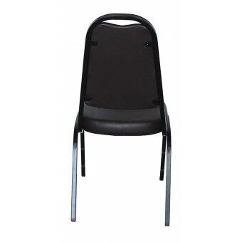 อยากขาย OK&MShop เก้าอี้จัดเลี้ยง เก้าอี้สัมนา รุ่น Banquet Chair01โครงขาสีดำ-เบาะน้ำตาล