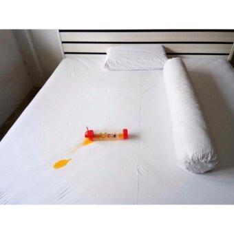 P&P Sheet คลุมที่นอนกันน้ำกันไรฝุ่น 5ฟุต ( สีขาว )