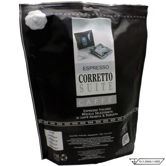 Pods Paper filters Corretto Suite Espresso Coffee (24 Pods /bag)