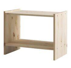 PR Furniture โต๊ะข้างเตียง 52x30cm ไม้สน