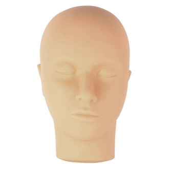 ประกาศขาย หัวผมแบน ๆ โดยหุ่นสำหรับฝึกแต่งหน้าแต่งตาขยายภาพการนวด