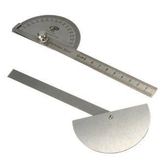 ไม้วัดมุมองศาค้นหาเครื่องมือช่างเครื่องวัดการออกแบบกฎเหล็ก(สแตนเลส)