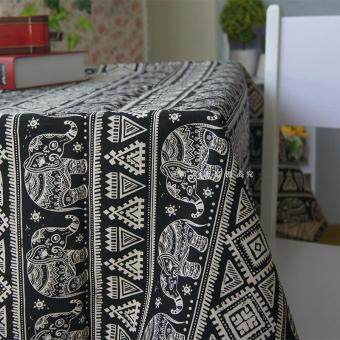 สไตล์เอเชียตะวันออกเฉียงใต้ผ้าฝ้ายช้างโต๊ะกาแฟผ้าผ้าปูโต๊ะ
