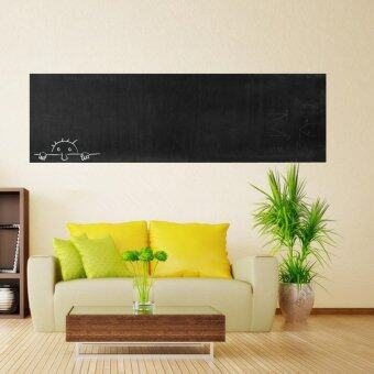 Harga Removable Chalk Board Blackboard Vinyl Wall Sticker DecalChalkboard 60x200CM - intl