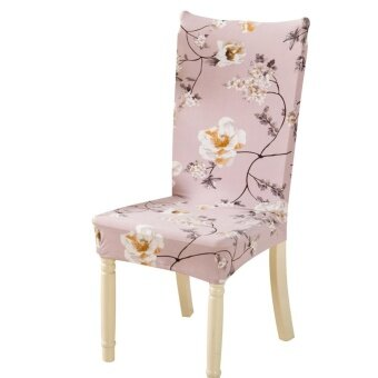 Removable Conjoined Stretchy Floral Home Stool Chair Seat Cover -intl