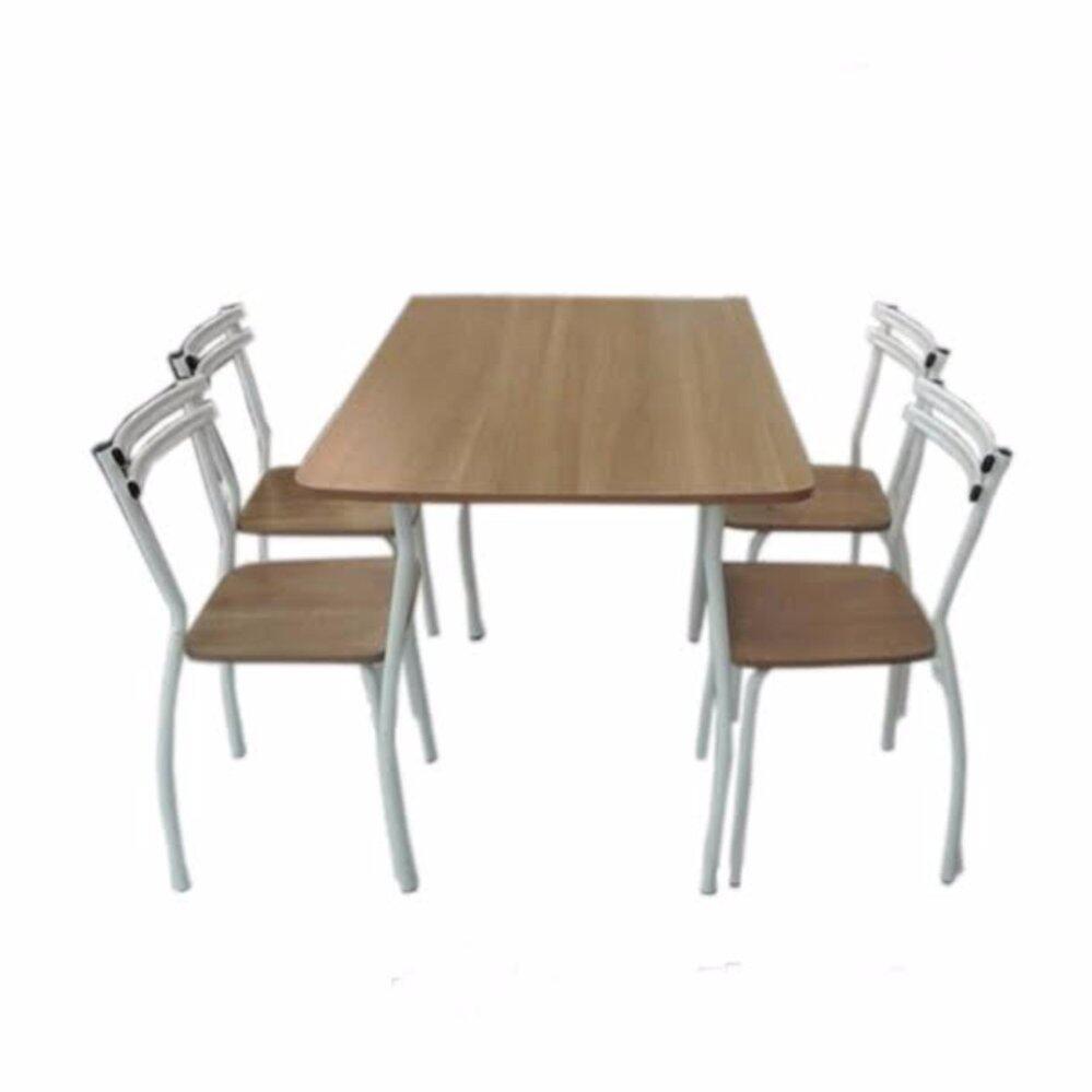 Delightful RF Furniture ชุดอาหาร ฟอลล่า 4ที่นั่ง | Lazada.co.th