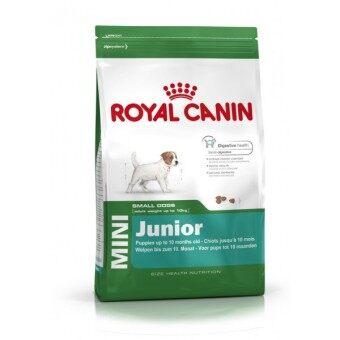 Royal Canin Mini Junior อาหารลูกสุนัขพันธุ์เล็ก 2 – 10 เดือน ขนาด 4\nkg.