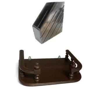 เปรียบเทียบราคา RTT แฟ้มเก็บหนังสือไม้สักทอง(สีโอ๊ค) และ RTTหิ้งวางพระเครื่องไม้สักทอง ขนาด 40 ซ.ม (12*16 นิ้ว) สีโอ๊คแพ็คคู่(Brown)