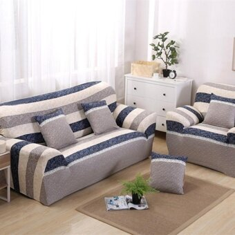 Set 1 + 2 + 3 Seats Stretch Slipcover Sofa Couch Protector CoverHome Decorations Style #3 - intl