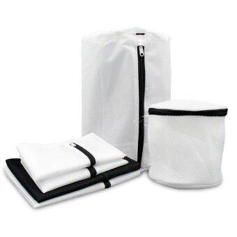 Set of 6 Mesh Laundry Bag for Laundry Travel Wash Bag for Bras Delicates Blouses Hosiery Stocking Underwear Lingerie Bra Bag