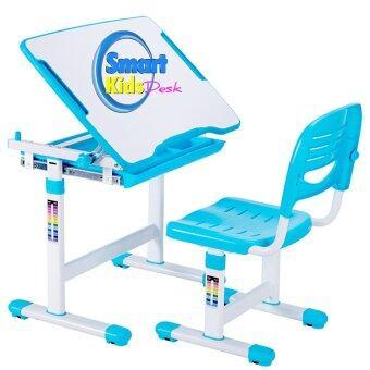Smart Kids Desk ชุดโต๊ะเก้าอี้เด็ก แบบ SKD-II (สีฟ้า)