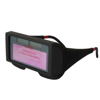 Solar Powered Auto Darkening Welding Glasses Eye ProtectionEquipment - intl