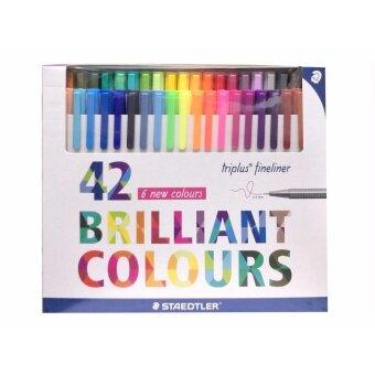 ต้องการขาย Staedtler ชุดปากกาไตรพลัส ไฟน์ไลน์เนอร์ 42 สี