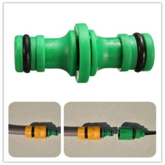 Straight Double Way Garden Water Hose Pipe Connector FittingsPlumbing - intl