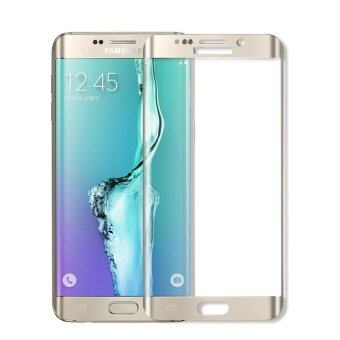 Tempered Glass Screen Protector Guard for Samsung Galaxy S6 EdgeG9250 (Silver)