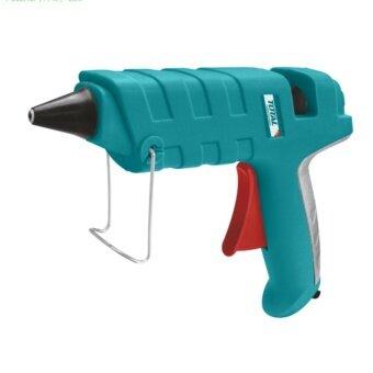 Total ปืนกาวไฟฟ้า (เล็ก) 100 วัตต์ (พร้อมกาวแท่ง 2 อัน ในแพ็ค) รุ่นTT101111 ( Hot Melt Glue Gun )