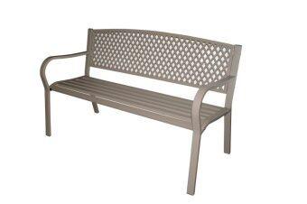 โปรโมชั่นพิเศษ TSF เก้าอี้สนาม ขนาด 124x57x71 cm รุ่น TULIP (สีเทา)